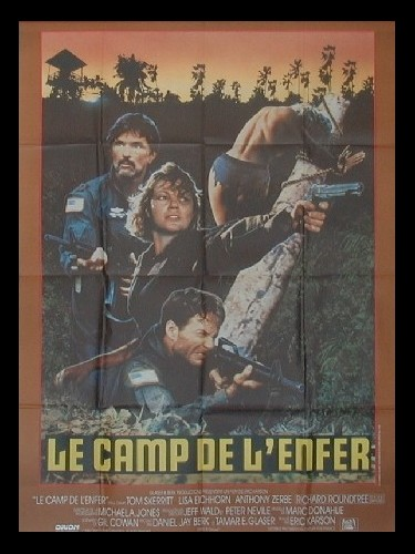 Affiche du film CAMP DE L'ENFER (LE) - OPPOSING FORCE