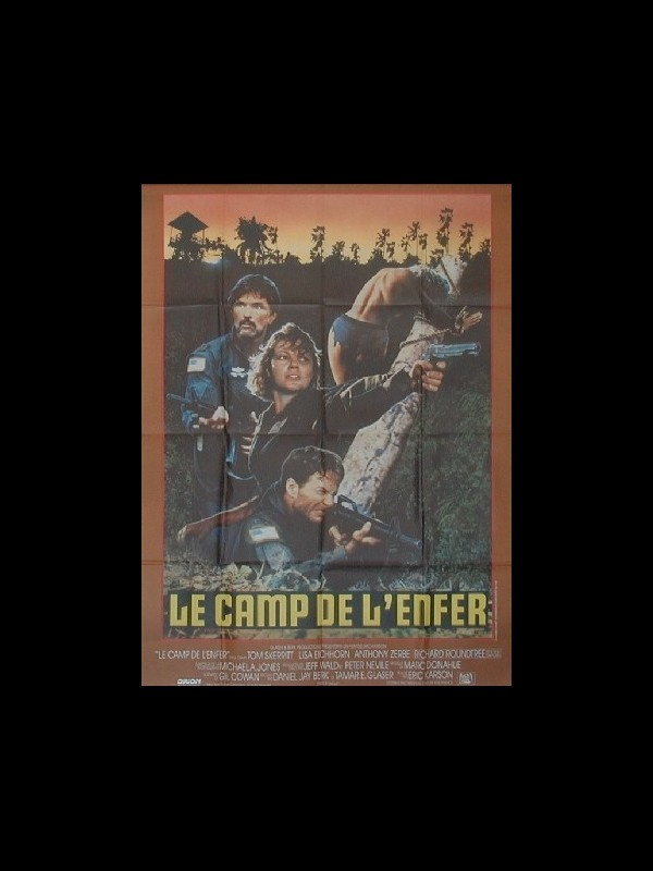 Affiche du film CAMP DE L'ENFER (LE) - OPPOSING FORCE