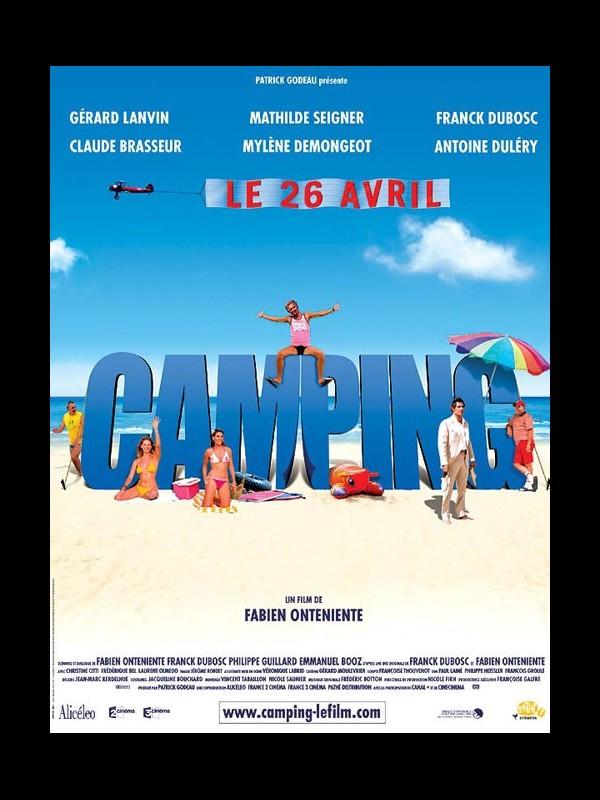 Affiche du film CAMPING