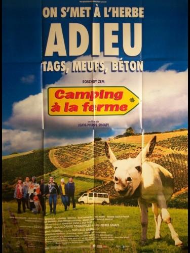 Affiche du film CAMPING A LA FERME