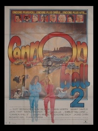 Affiche du film CANNON BALL2