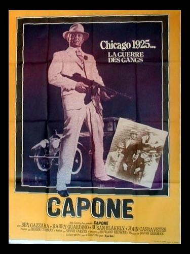 Affiche du film CAPONE