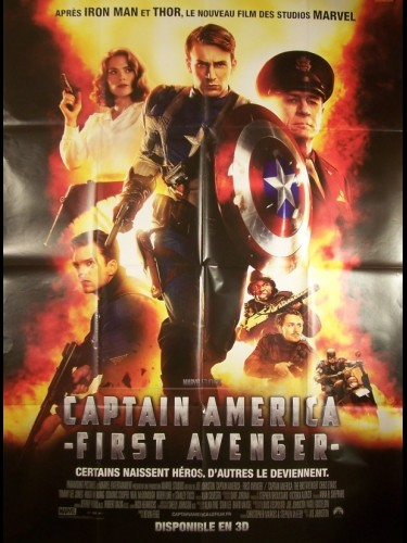 Affiche du film CAPTAIN AMERICA