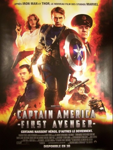 Affiche du film CAPTAIN AMERICA (FIRST AVENGER)
