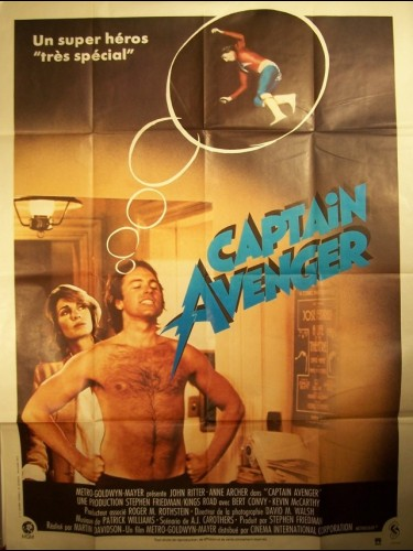Affiche du film CAPTAIN AVENGER - HERO AT LARGE