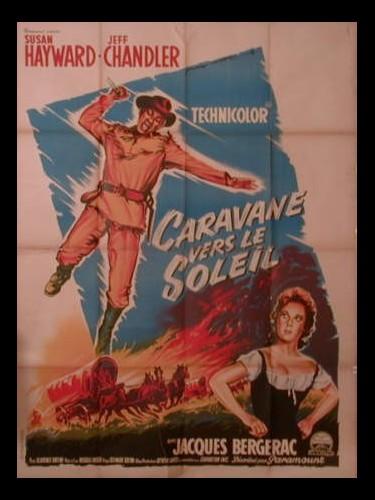Affiche du film CARAVANE VERS LE SOLEIL