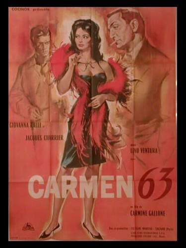 Affiche du film CARMEN 63 - CARMEN DI TRASTEVERE