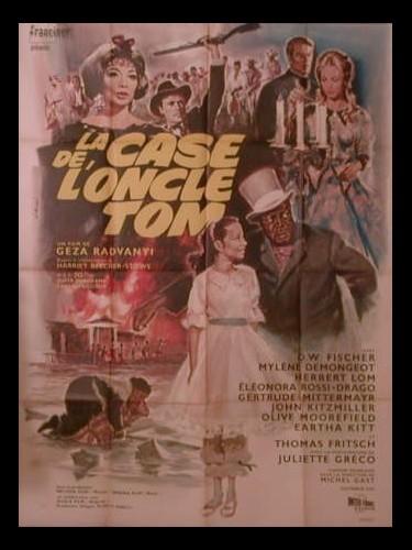 Affiche du film CASE DE L'ONCLE TOM (LA) - ONKEL TOMS HUTTE