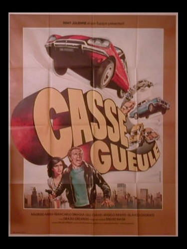 Affiche du film CASSE GUEULE - POLIZIOTTO SPRINT