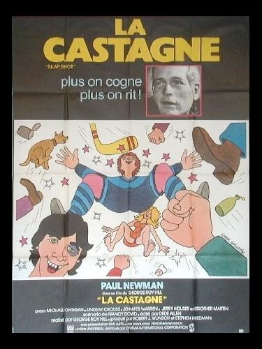 Affiche du film CASTAGNE (LA)