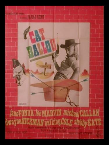 Affiche du film CAT BALLOU