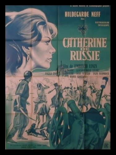 Affiche du film CATHERINE DE RUSSIE - CATERINA DI RUSSIA