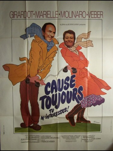 Affiche du film CAUSE TOUJOURS TU M'INTERESSES