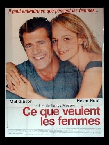 Affiche du film CE QUE VEULENT LES FEMMES - WHAT WOMEN WANT