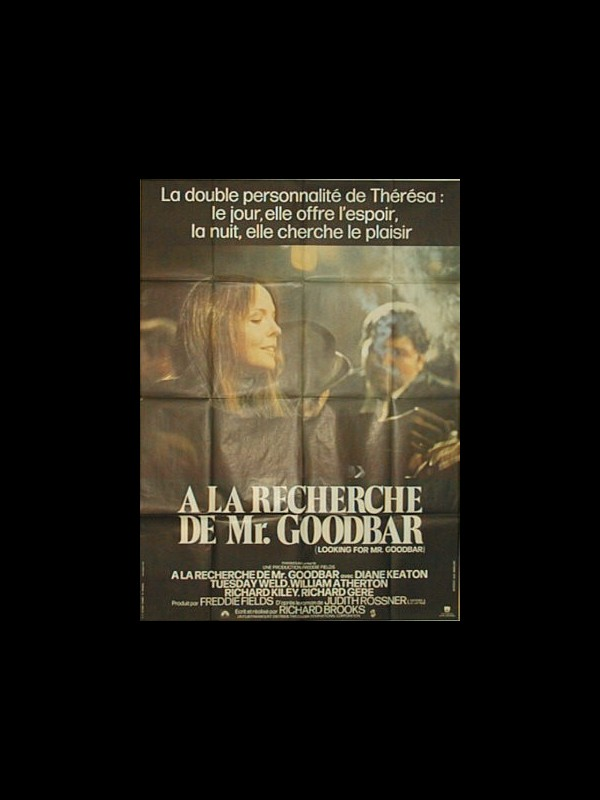 Affiche du film A LA RECHERCHE DE MR GOODBAR - LOOKING FOR MR GOODBAR