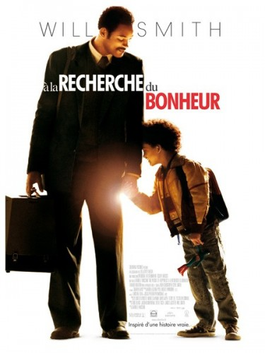 Affiche du film A LA RECHERCHE DU BONHEUR - THE PURSUIT OF HAPPYNESS