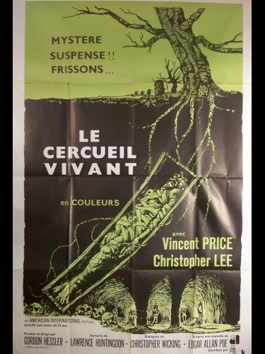 Affiche du film CERCUEIL VIVANT (LE) - THE OBLONG BOX