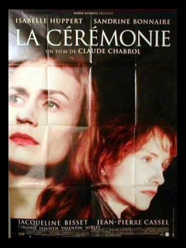 Affiche du film CEREMONIE (LA)