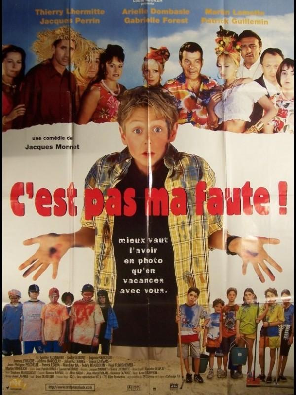 Affiche du film C'EST PAS MA FAUTE