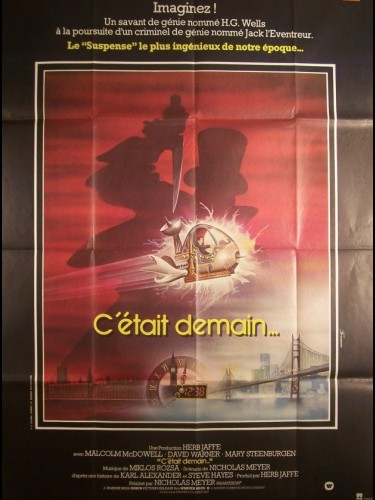 Affiche du film C'ÉTAIT DEMAIN - TIME AFTER TIME