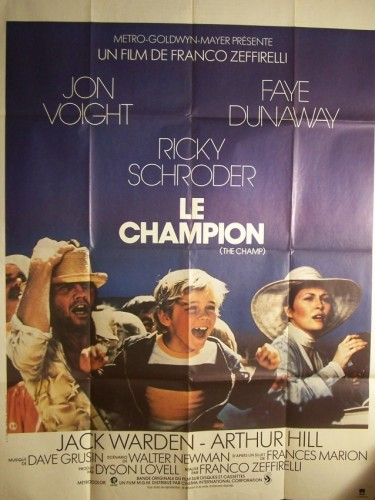 Affiche du film CHAMPION (LE) - THE CHAMP