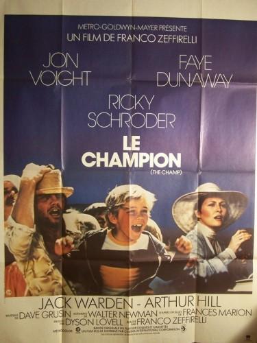 Affiche du film CHAMPION (LE) - THE CHAMP