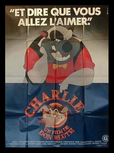 Affiche du film CHARLIE (AFFICHE AVEC LE MECHANT)