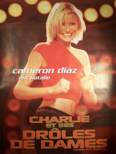 Affiche du film CHARLIE ET SES DROLES DE DAMES-CAMERON DIAZ- - CHARLIE'S ANGELS