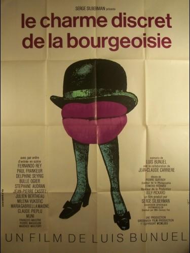 Affiche du film CHARME DISCRET DE LA BOUGEOISIE (LE) - THE DISCREET CHARM OF THE BOURGEOISIE