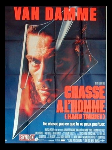 Affiche du film CHASSE A L'HOMME