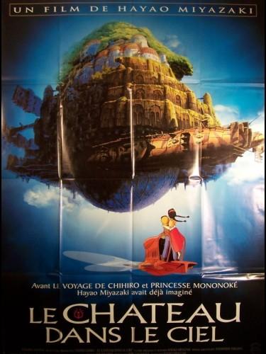 Affiche du film CHÂTEAU DANS LE CIEL (LE) - TENKÛ NO SHIRO RAPYUTA