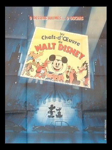 Affiche du film CHEFS D'ŒUVRES DE WALT DISNEY (LES)