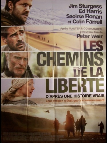Affiche du film CHEMINS DE LA LIBERTE (LES) - THE WAY BACK