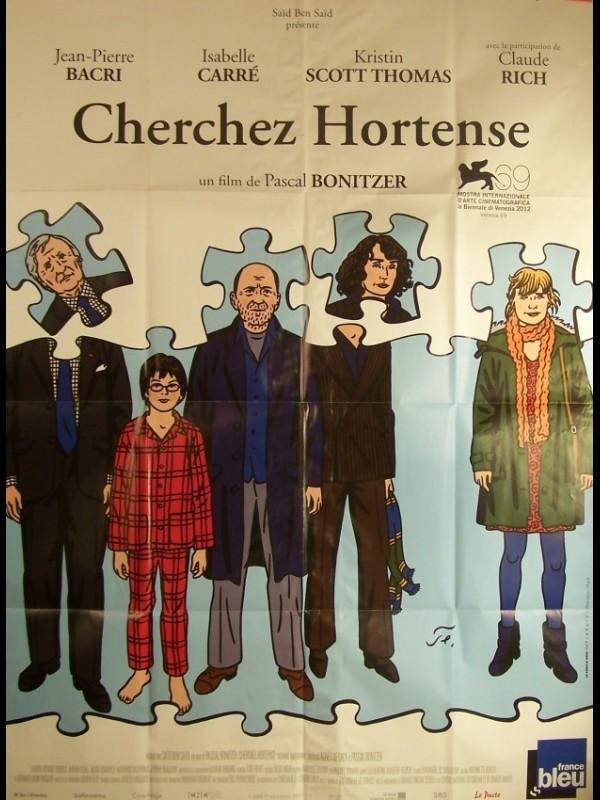 Affiche du film CHERCHEZ HORTENSE
