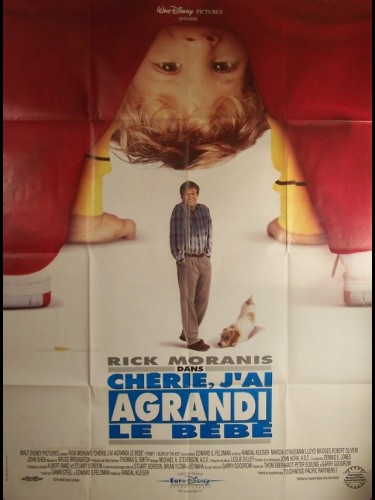 Affiche du film CHERI, J'AI AGRANDI LE BEBE