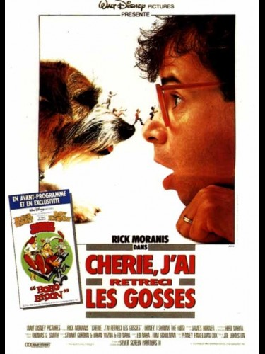 Affiche du film CHERIE, J'AI RETRECI LES GOSSES - HONEY, I SHRUNK THE KIDS