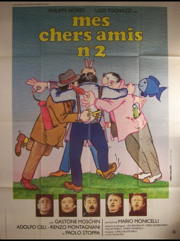 Affiche du film CHERS AMIS 2 (MES)