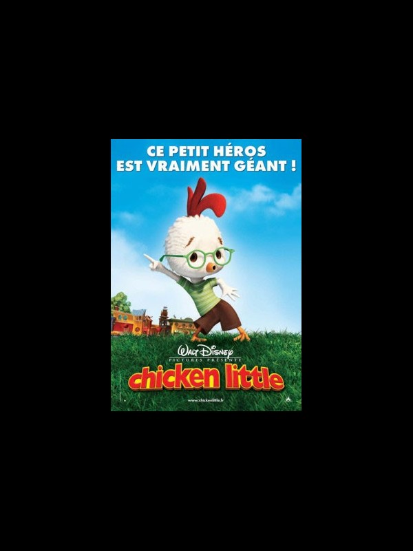 Affiche du film CHICKEN LITTLE - CHICKEN LITTLE