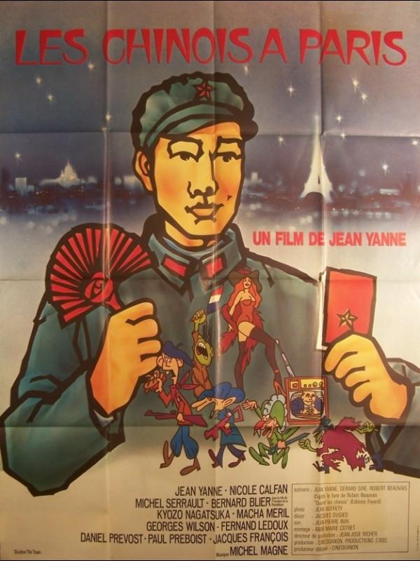 Affiche du film CHINOIS A PARIS (LES)