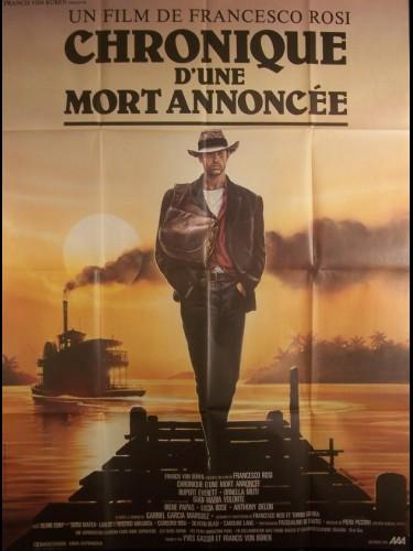 Affiche du film CHRONIQUE D'UNE MORT ANNONCEE - CRONACA DI UNA MORTE ANNUNCIATA