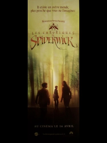 Affiche du film CHRONIQUES DE SPIDERWICK (LES) - THE SPIDERWICK CHRONICLES
