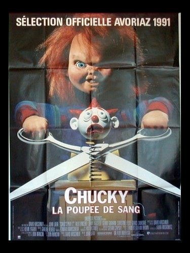 Affiche du film CHUCKY LA POUPEE DE SANG - Titre originale CHILD'S PLAY