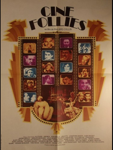 Affiche du film CINE FOLLIES