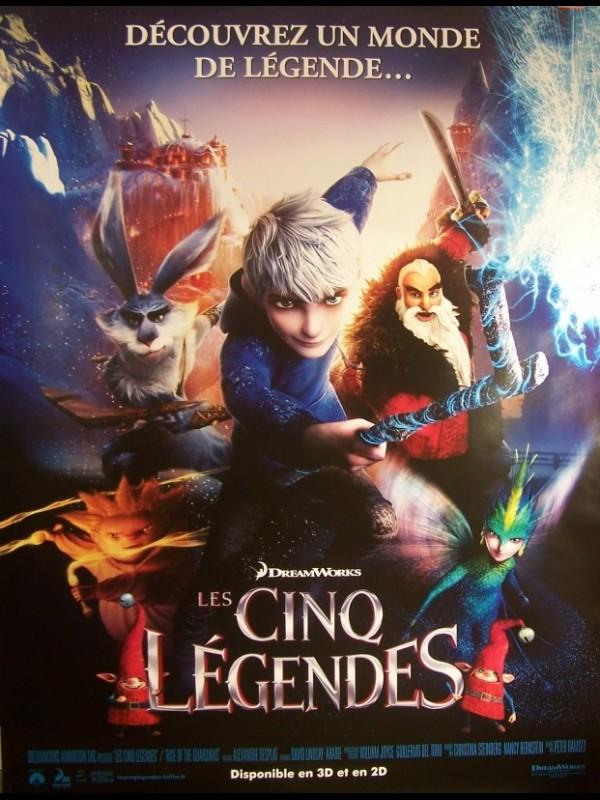 Affiche du film CINQ LEGENDES (LES)