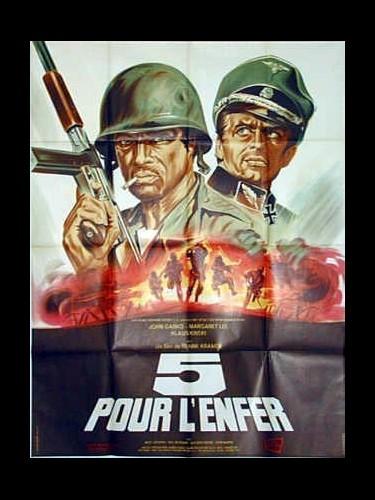 Affiche du film CINQ POUR L'ENFER