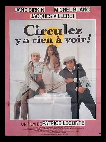 Affiche du film CIRCULEZ Y A RIEN A VOIR