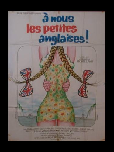 Affiche du film A NOUS LES PETITES ANGLAISES