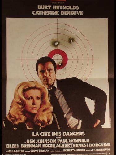 Affiche du film CITE DES DANGERS (LA) - USTLE