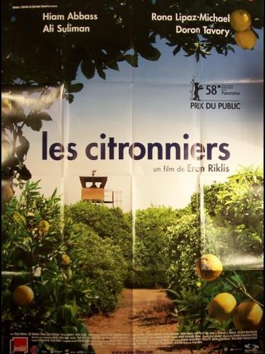 Affiche du film CITRONNIERS (LES) - ETZ LIMON