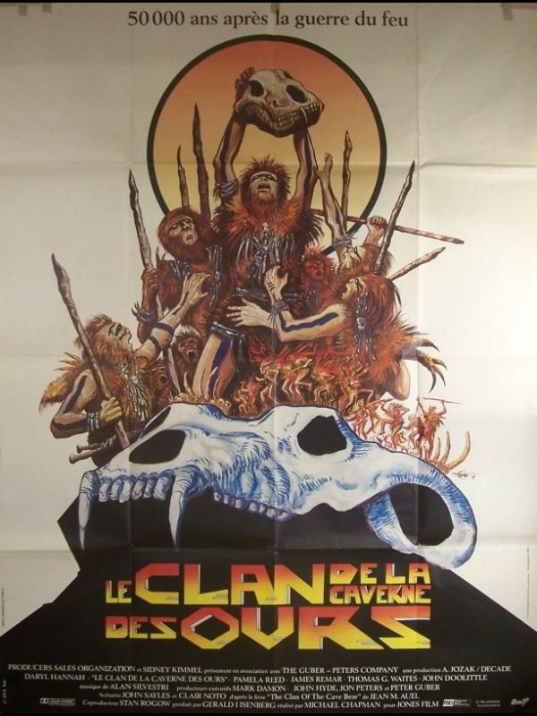 Affiche du film CLAN DE LA CAVERNE DES OURS (LE)